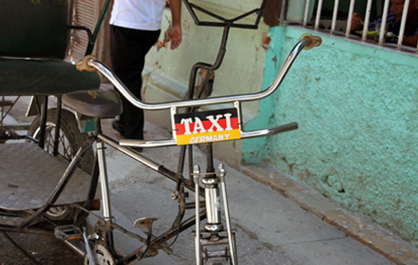 Taxi nach Germany in Havanna Kuba