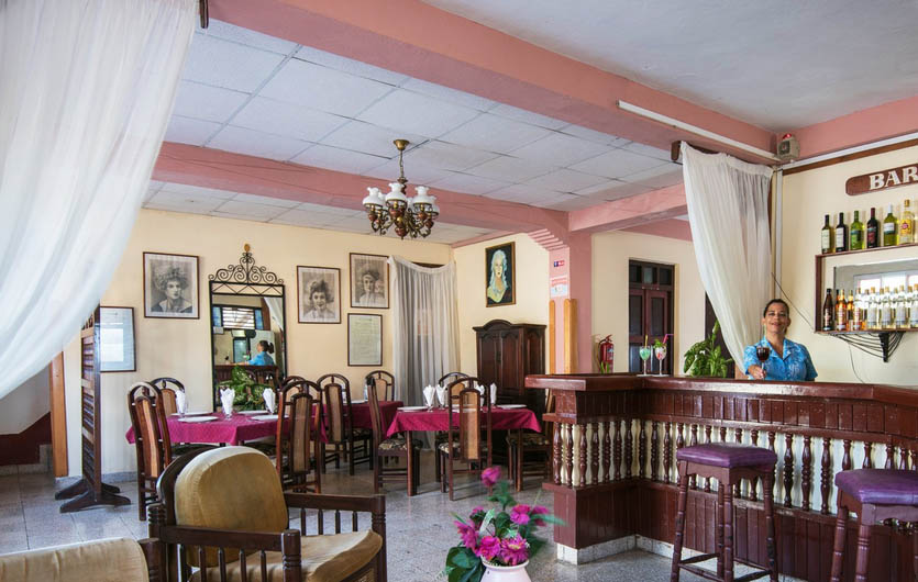 Hostal La Rusa Baracoa Bar
