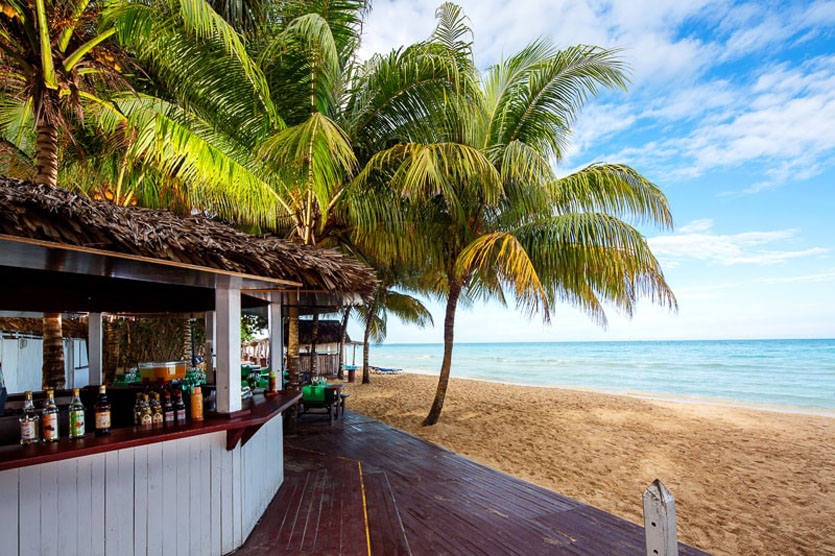 Memories Caribe Cayo Coco Bar am Strand